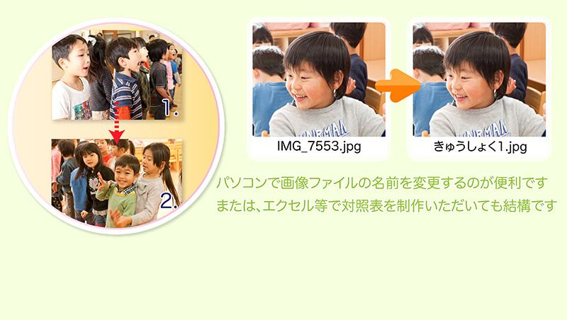 卒園アルバム-キッズドン!制作の流れ6