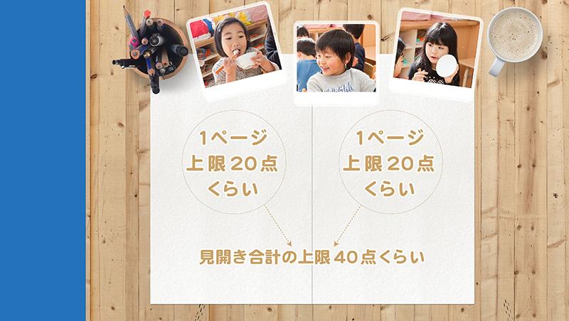 卒園アルバム-キッズドン!制作の流れ3